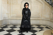 Bianca Jagger attends the Christian Dior Haute Couture Spring Summer 2019 show as part of Paris Fashion Week on January 21, 2019 in Paris, France.