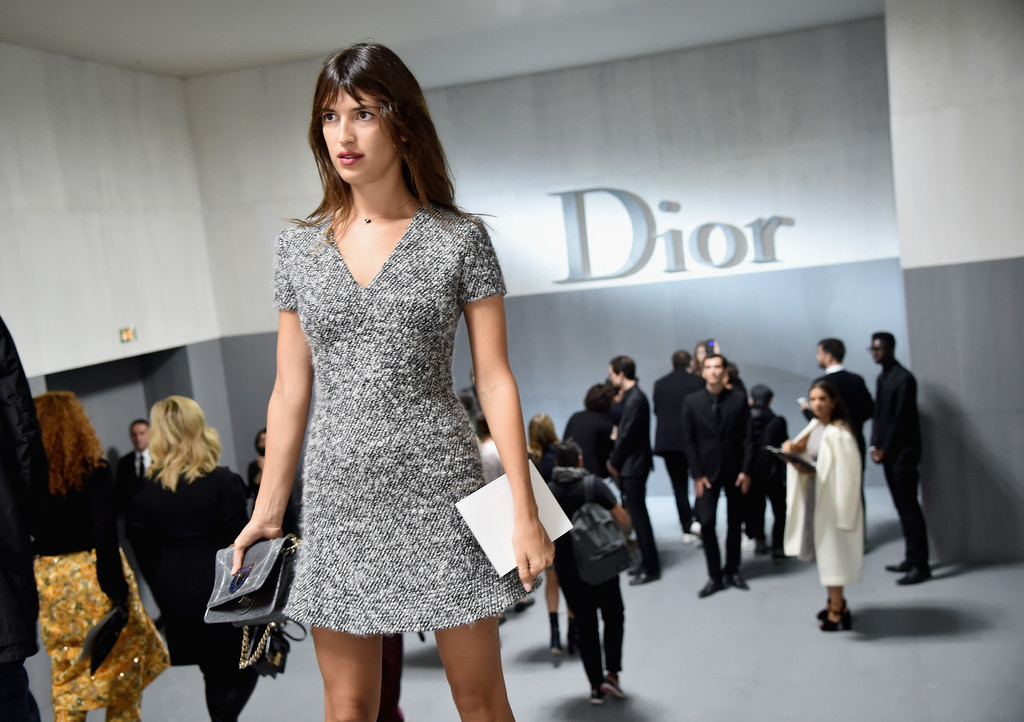Jeanne Damas in Christian Dior : Tunnel