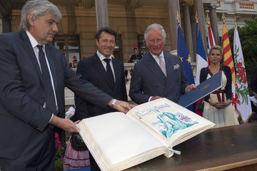 Christian Estrosi Prince Of Wales And Duchess Of Cornwall Visit France And Greece
