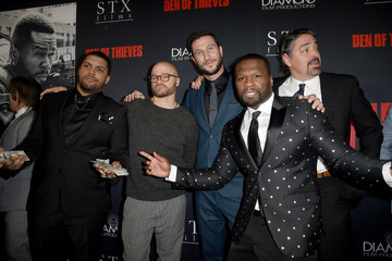 Christian Gudegast Premiere of STX Films' 'Den of Thieves' - Red Carpet