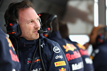 Christian Horner F1 Grand Prix of USA - Qualifying