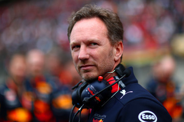 Christian Horner F1 Grand Prix Of China