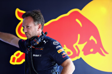 Christian Horner F1 Grand Prix of Germany - Qualifying