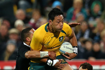 Christian Leali'fano New Zealand v Australia - The Rugby Championship