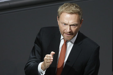 Christian Lindner Angela Merkel Gives Government Declaration Prior To European Council Brexit Meeting