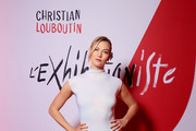 Karlie Kloss attends the Exhibition Opening of L'Exibition[niste] by Christian Louboutin as part of Paris Fashion Week Womenswear Fall/Winter 2020/2021 on February 24, 2020 in Paris, France.