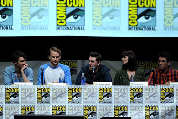 Christian Madsen Amy Newbold Comic-Con Panels for 'Ender's Game' and 'Divergent'