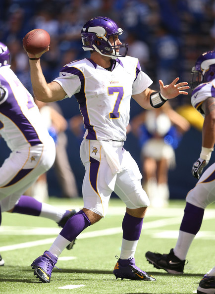 Christian Ponder, Vikings