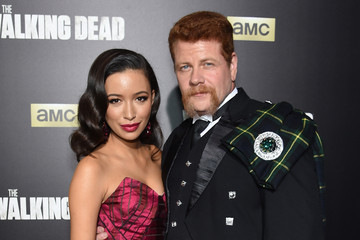 Christian Serratos 'The Walking Dead' Season 6 Fan Premiere Event at Madison Square Garden 2015 - Arrivals