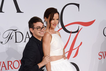Christian Siriano 2015 CFDA Fashion Awards - Inside Arrivals