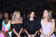 (L - R) Marsai Martin, Sarah Michelle Gellar, Lucy Liu and Alicia Silverstone attend the Christian Siriano Fashion Show,  New York Fashion Week: The Shows at Gotham Hall on September 07, 2019 in New York City.