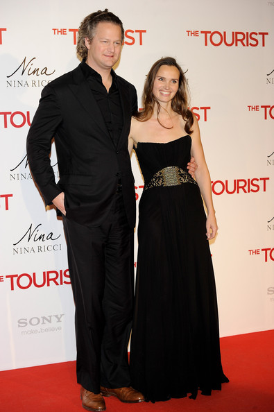 """Christiane Henckel Director Florian Henckel and wife Christiane Henckel attend """"The Tourist premiere at Palacio. Angelina Jolie and Johnny Depp Attend 'The"""