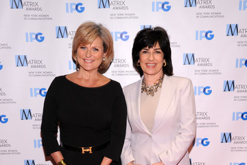 Christiane Amanpour Arrivals at the Matrix Awards