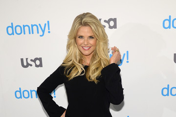 Christie Brinkley USA Network Hosts the Premiere of 'Donny!'