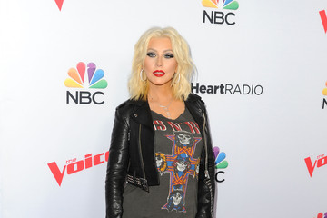 Christina Aguilera NBC's 'The Voice' Season 8 Red Carpet Event