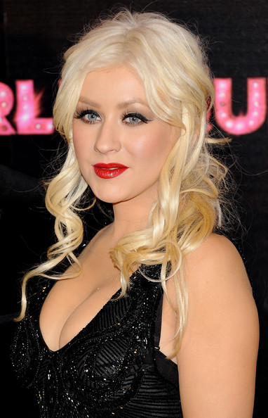"Christina Aguilera Singer and actress Christina Aguilera attends ""Burlesque"" premiere at Callao cinema on December 9, 2010 in Madrid, Spain."