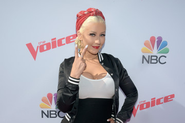 Christina Aguilera 'The Voice' Karaoke For Charity - Arrivals