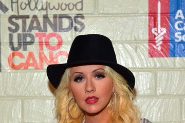 Christina Aguilera Stars at the Hollywood Stands Up to Cancer Event