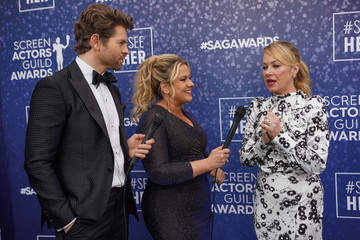 Christina Applegate SeeHer Red Carpet Platform At The 26th Annual Screen Actors Guild Awards