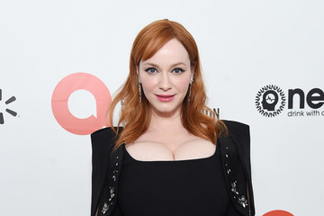 Christina Hendricks 28th Annual Elton John AIDS Foundation Academy Awards Viewing Party Sponsored By IMDb, Neuro Drinks And Walmart - Red Carpet