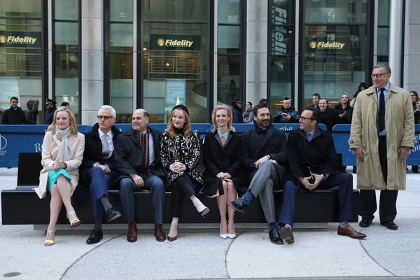 'Mad Men' Sculpture Unveiled at Time & Life Building