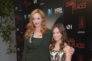 Christina Hendricks Celebrities Attend the Premiere of DIRECTV's 'Dark Places'
