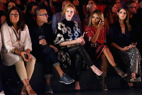 Naeem Khan - Front Row - Spring 2016 New York Fashion Week: The Shows