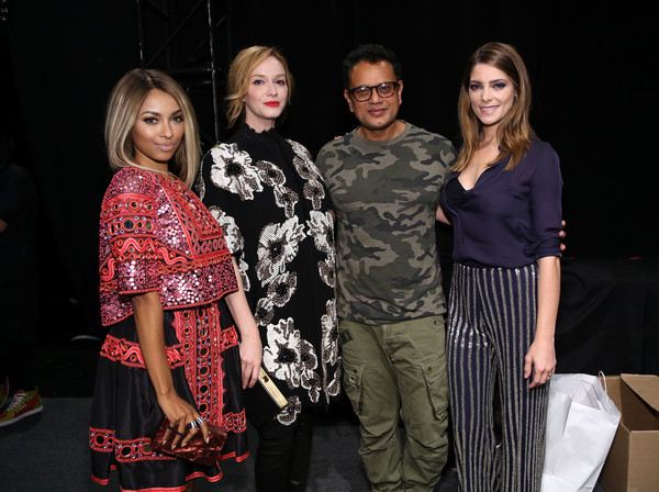 Naeem Khan - Backstage - Spring 2016 New York Fashion Week: The Shows