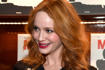 Christina Hendricks Launch For Matthew Weiner's Book 'Mad Men'