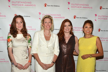 Christina Huffington Dottie Mattison Arrivals at the Outstanding Mother Awards