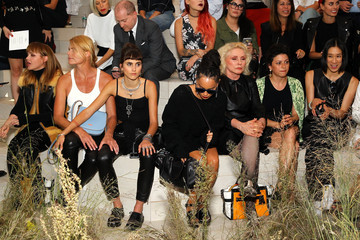 Christina Ricci Coach Women's Spring 2016 Show - Front Row