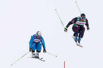Christoph Wahrstoetter FIS Freestyle Ski World Cup Men's and Women's Ski Cross