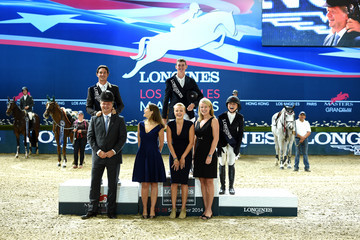 Christophe Ameeuw Longines Los Angeles Masters - Day 4