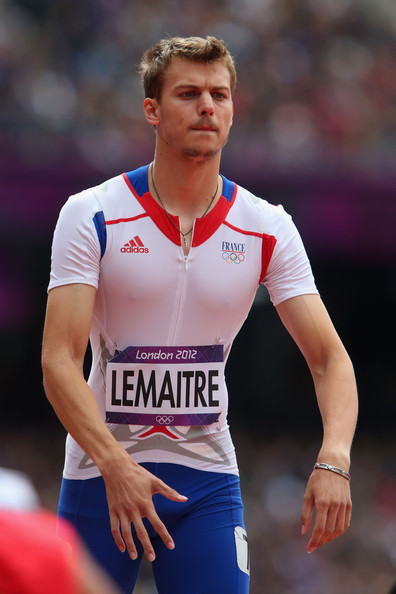 Christophe Lemaitre Christophe Lemaitre of France competes in the Men's 200m Round 1 Heats on Day 11 of the London 2012 Olympic Games at Olympic Stadium on August 7, 2012 in London, England.