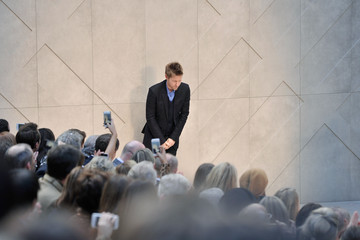 Christopher Bailey LFW: Front Row at Burberry Prorsum