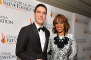"""Will Reeve and Gayle King arrive at The Christopher & Dana Reeve Foundation """"Magical Evening"""" Gala on November 15, 2018 in New York City."""