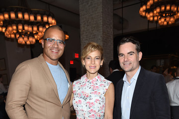 Christopher Jackson GOOD+ Foundation & MR PORTER Host Fatherhood Lunch With Jerry Seinfeld in New York City