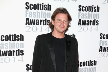 Christopher Kane Arrivals at the Scottish Fashion Awards