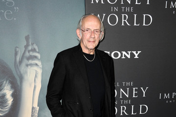 Christopher Lloyd Premiere Of Sony Pictures Entertainment's 'All The Money In The World' - Arrivals