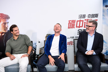 Christopher Mcquarrie 'Mission: Impossible - Fallout' China Press Junket