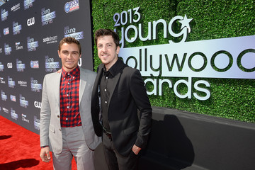 Christopher Mintz-Plasse Dave Franco 2013 Young Hollywood Awards Presented By Crest 3D White And SodaStream / The CW Network - Red Carpet