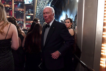 Christopher Plummer 90th Annual Academy Awards - Backstage