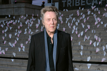 Christopher Walken Guests at the Vanity Fair Party in NYC