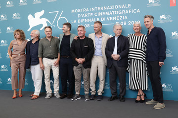 Christos Loulis Alexandros Bourdoumis 'Adults In The Room' Photocall - The 76th Venice Film Festival