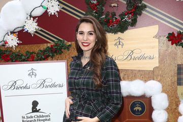 Christy Carlson Romano Brooks Brothers Hosts Annual Holiday Celebration In Los Angeles To Benefit St. Jude - Arrivals