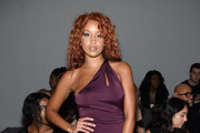 Lion Babe attends the Chromat fashion show during New York Fashion Week: The Shows  at Gallery 3, Skylight Clarkson Sq on September 8, 2017 in New York City.