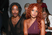 Jeffrey C. Williams and Lion Babe attend the Chromat fashion show during New York Fashion Week: The Shows  at Gallery 3, Skylight Clarkson Sq on September 8, 2017 in New York City.