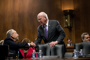 Chuck Grassley Senate Judiciary Committee Votes On Nomination Of Jeff Sessions To Become Attorney General
