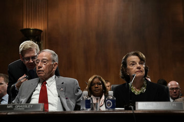 Chuck Grassley Senate Judiciary Committee Meets To Vote On Supreme Court Nominee Kavanaugh