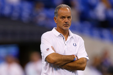 Chuck Pagano Arizona Cardinals v Indianapolis Colts